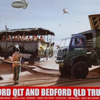 A03306 Airfix Bedford QLT and Bedford QLD Ttrucks