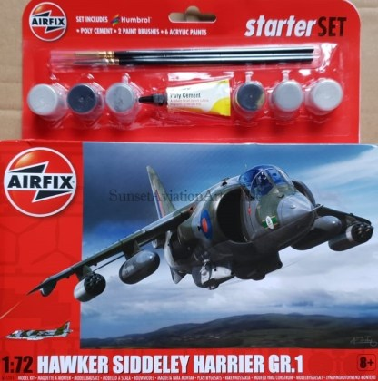 A55205 Airfix Hawker Siddeley Harrier GR.1