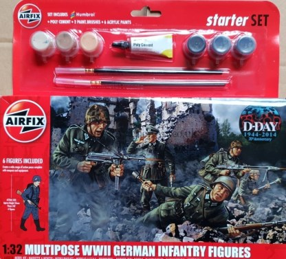 A55210 Airfix Multipose WWII German Infantry Figures