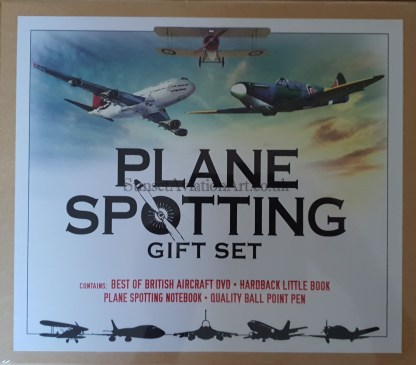 plane spotting gift set