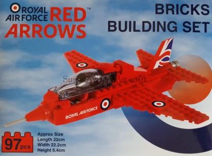 Red Arrows Bricks