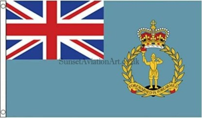 Royal Observer Corps Flag