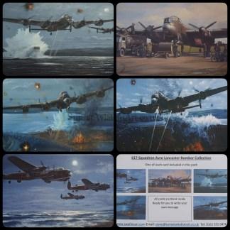 617 Squadron Avro Lancaster Bomber Collection..