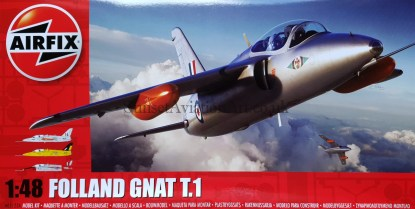 A05123A Airfix Folland Gnat T.1