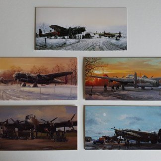 Final Preparations Lancaster Bomber Collection pack of cards