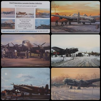 Final Preparations Lancaster Bomber Collection..