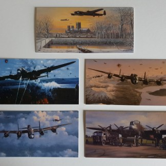 The Avro Lancaster Bomber Collection pack of cards