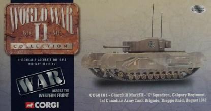 Corgi CC60101 Churchill Mark III Canadian Army