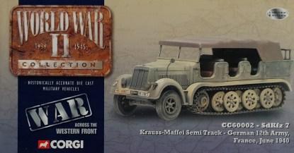 Corgi CC60002 Krauss Maffei Semi Track