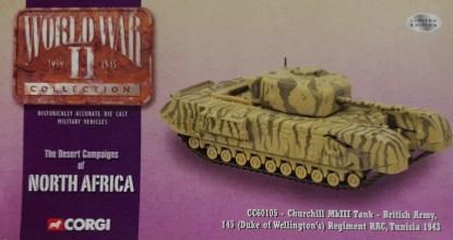 Corgi CC60105 Churchill MkIII Tank British Army