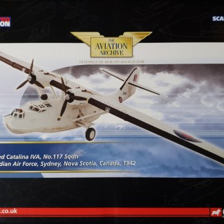 Corgi AA36107 Consolidated Catalina IVA, No. 117 Squadron