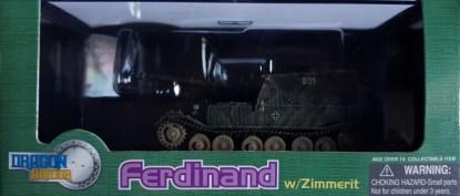 Ferdinand W Zimmerit sPzJgAbt 654 Eastern Front 1943 Dragon Armor 60054