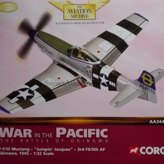 Corgi AA34404 P-51D Mustang Jumpin Jacques