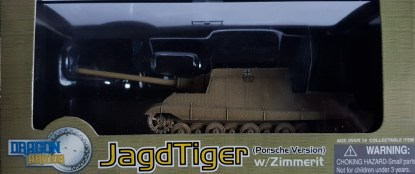 Jagdtiger w Zimmerit sPzJgAbt 653 Germany 1945 Dragon Armor 60112