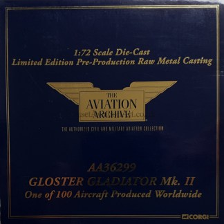 Corgi AA36299 Gloster Gladiator Mk II