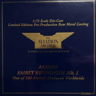 Corgi AA36399 Fairey Swordfish MkI