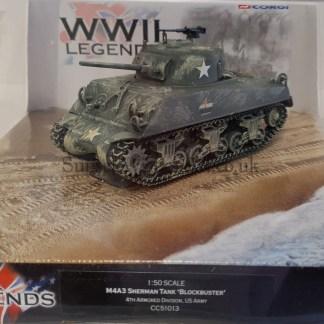 M4A3 Sherman Tank Corgi CC51013