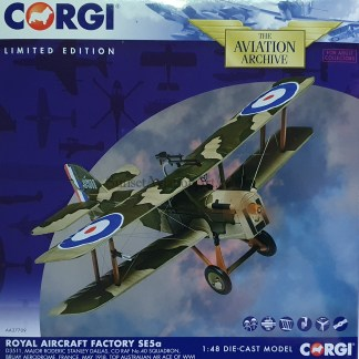 Corgi AA37709 Royal Aircraft Factory SE5a