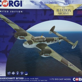 Corgi AA38509 Messerschmitt Bf 110D