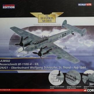 Corgi AA38502 Messerschmitt Bf-110G-4