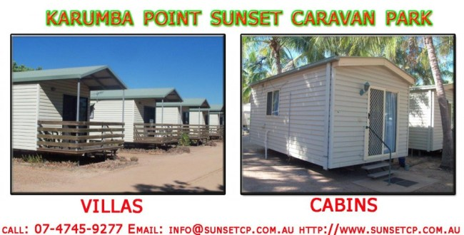 Karumba Point Sunset Caravan Park Accommodation Cabins Hotels Fishing Birds Wild Life Queensland Qld Online Direct
