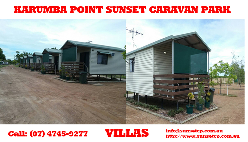 Villas and Ensuited Cabins Karumba Point Sunset Caravan Park March 2016