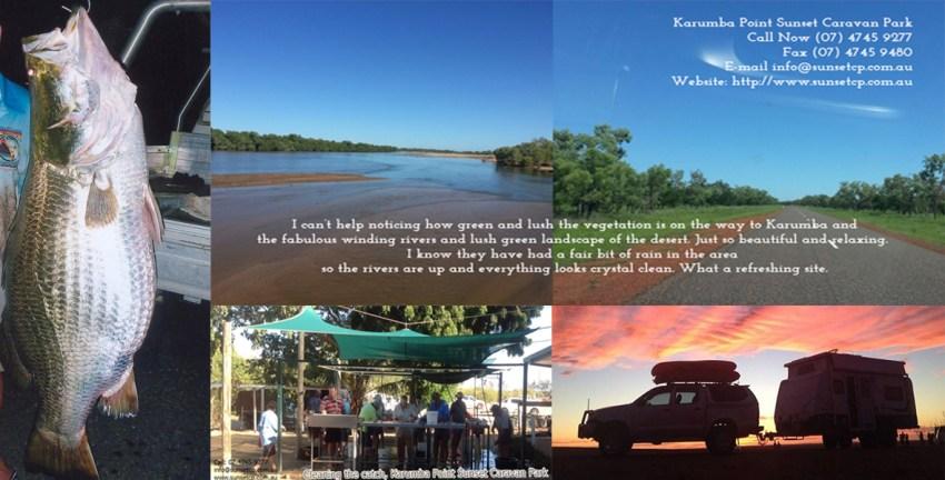 Tourist Attraction Karumba point Sunset Caravan Park Cabins Hotels Birds Online
