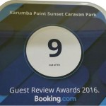 An Award of Excellence Received From Booking.com