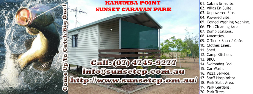 Karumba Point Sunset Caravan Park Accommodation