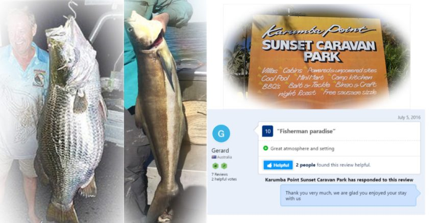 Karumba Point Sunset Caravan Park FISHING Competition 2017