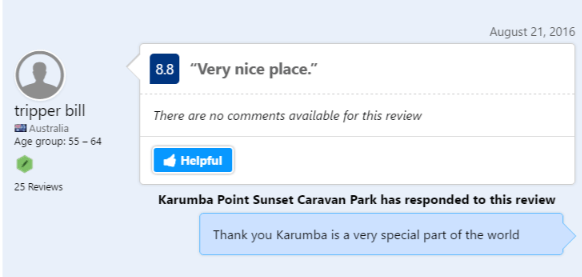 Testimonials Karumba Point Sunset Caravan Park Source BOOKING