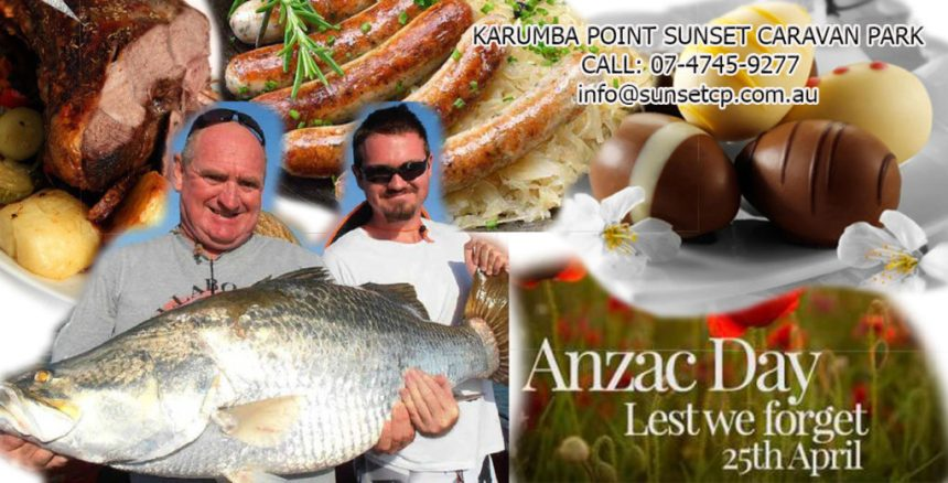 Anzac Holidays Karumba Point Sunset Caravan Park