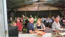 Roast Night At Karumba Point Sunset Caravan Park Karumbayone. Friday Night Roast At Karumba Point Sunset Caravan Park welcome everyone. Friday night Roast. Great crowd. Great food and a good time . Roast Pork and veg at Karumba Point Sunset Caravan Park.