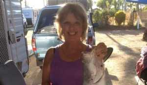 A lovely lady, with a lovely smile and a lovely Barra