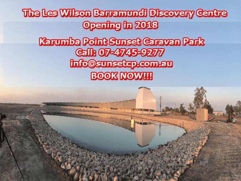 Karumba Point Sunset Caravan Park New Barramundi Centre Opening 2018