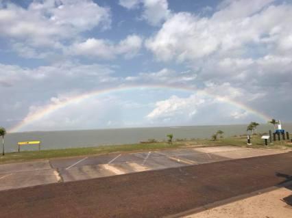 Rainbow Beautiful Karumba Point Sunset Caravan Park