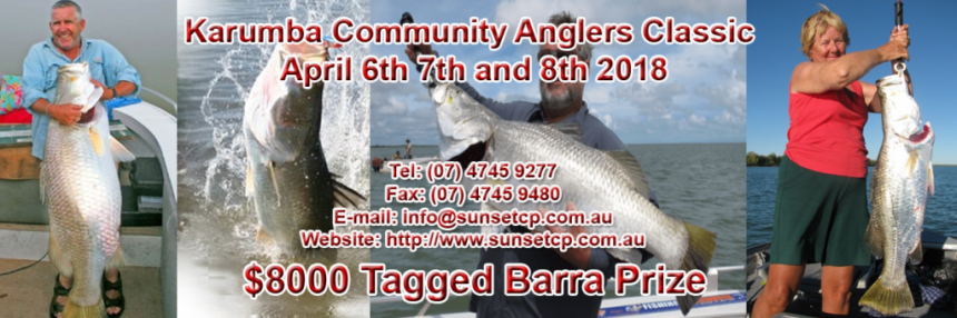Welcome to the 2018 Karumba Community Anglers Classic