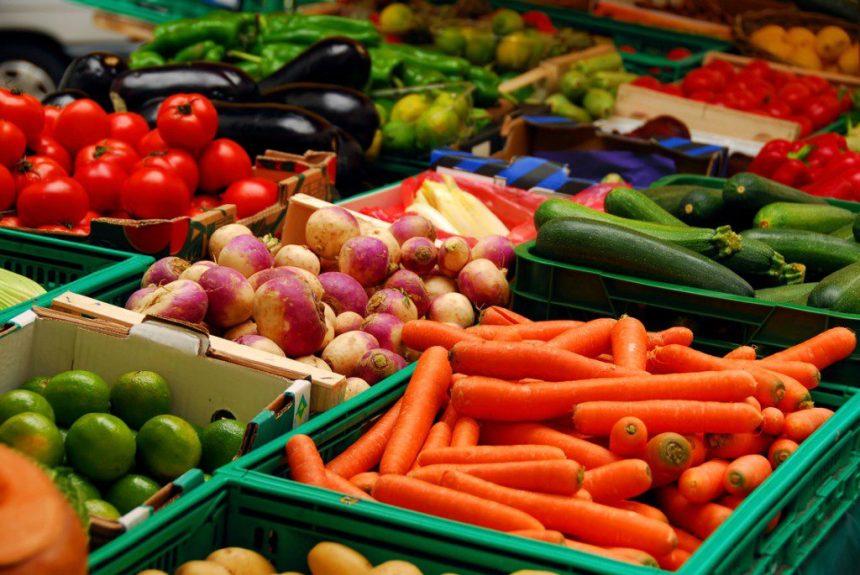Seasonal Vegetables Food