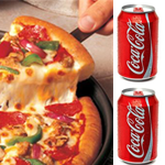 BUY 1 PIZZA WITH 2 CANS OF DRINKBUY 1 PIZZA WITH 2 CANS OF DRINK