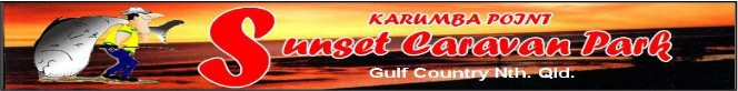 Karumba Point Sunset Caravan Park Gulf of Nth. Qld