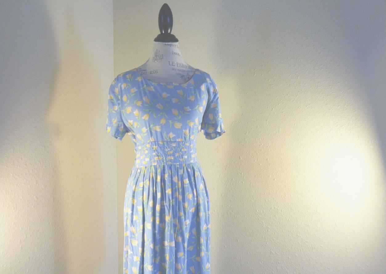 A dress from a garage sale