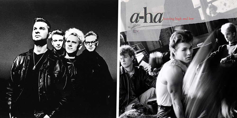 Depeche Mode and A-ha