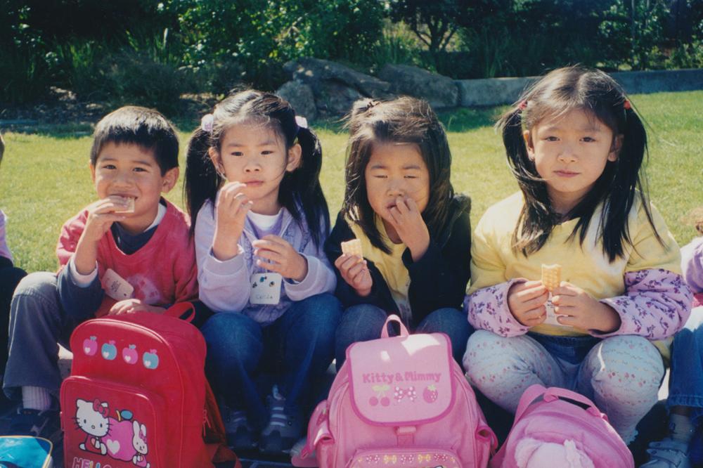 Preschool with friends