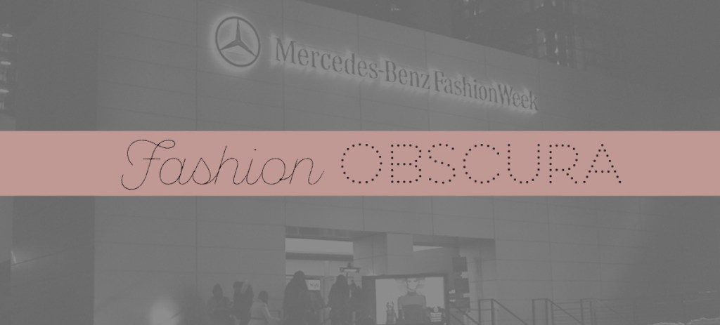 Fashion Obscura: Anatomy of the Modern Day Fashion Show, Part 2
