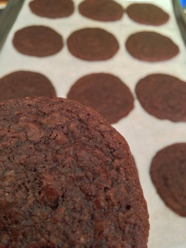 Here's The Dish: Brownie Cookies