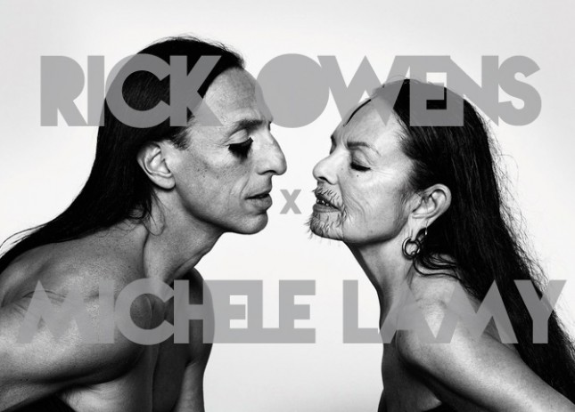 Fashion Soup for the Sartorial Soul: Rick Owens x Michèle Lamy