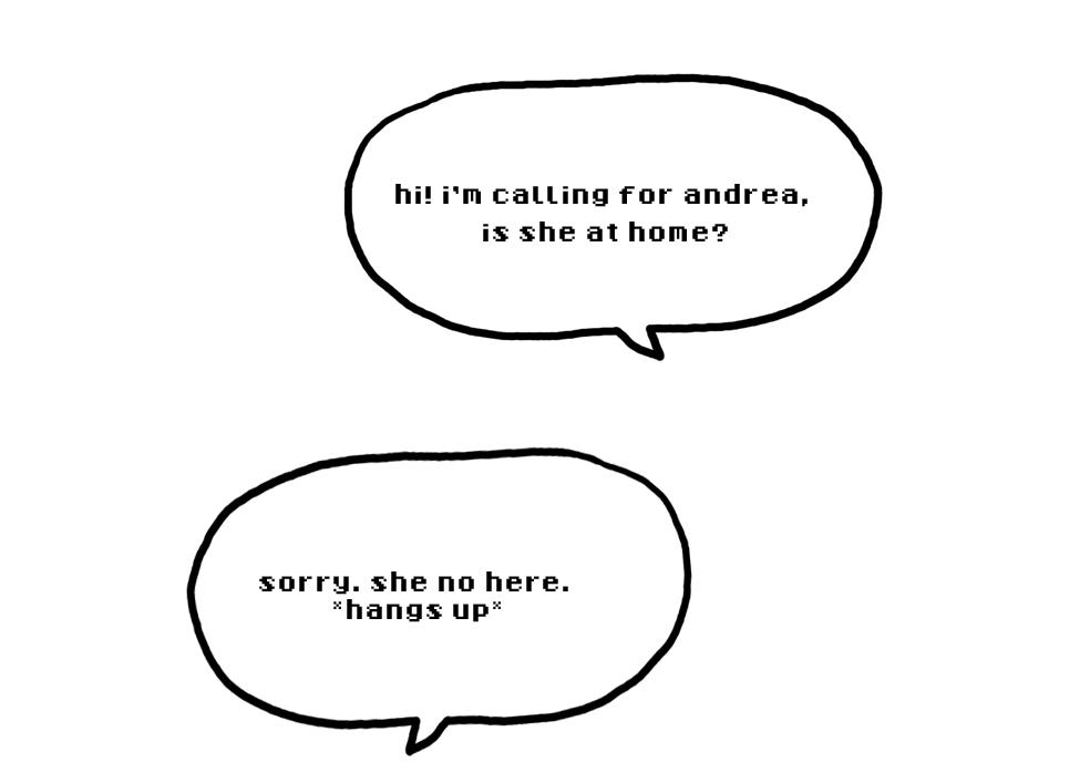 she no here