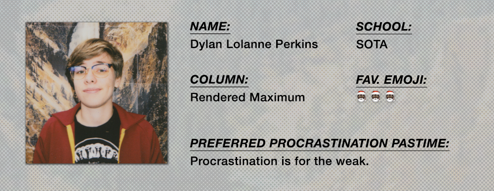 Dylan Lalanne Perkins - Rendered Maximum