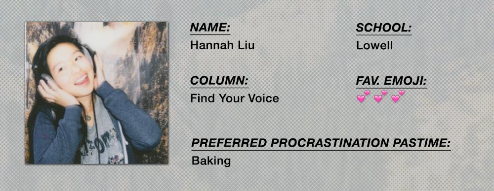 Hannah Liu - Find Your Voice