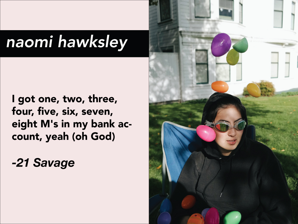ZINEior YEAR: Naomi Hawksley
